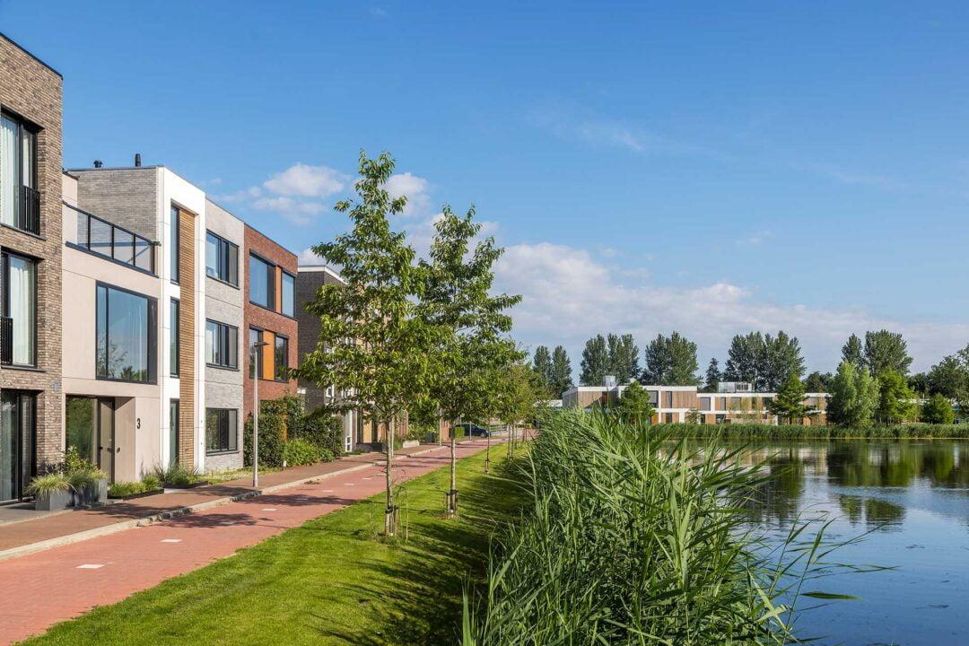 Tussenwoning met dakterras, Rubenssingel, Capelle aan den IJssel