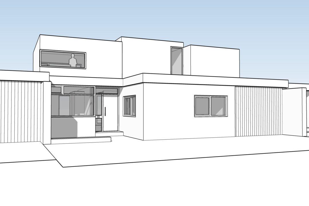 Verbouwing en opbouw bungalow, Krimpen a/d IJssel
