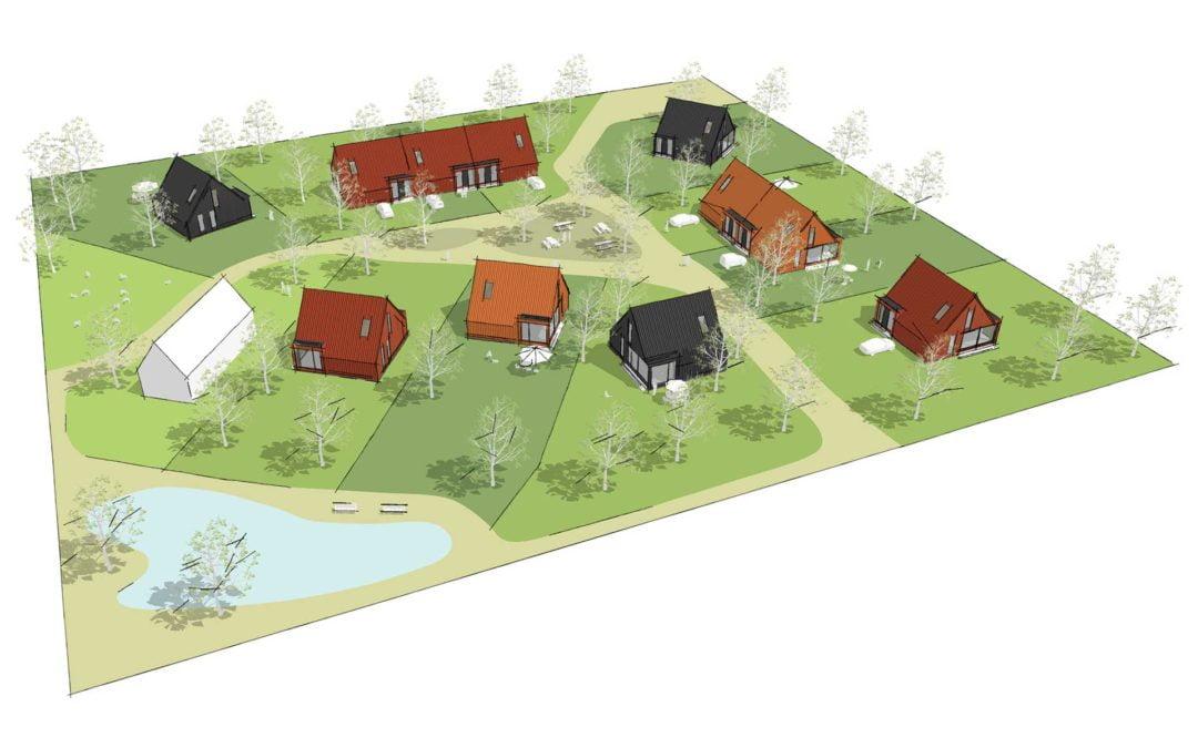 8A ontwerpt schuurwoningen in Oosterwold