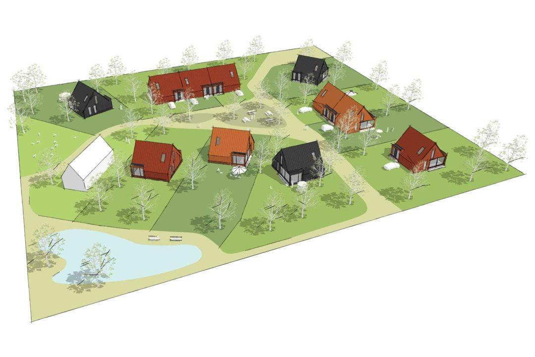 De Nederzetting Oosterwold, Almere Hout