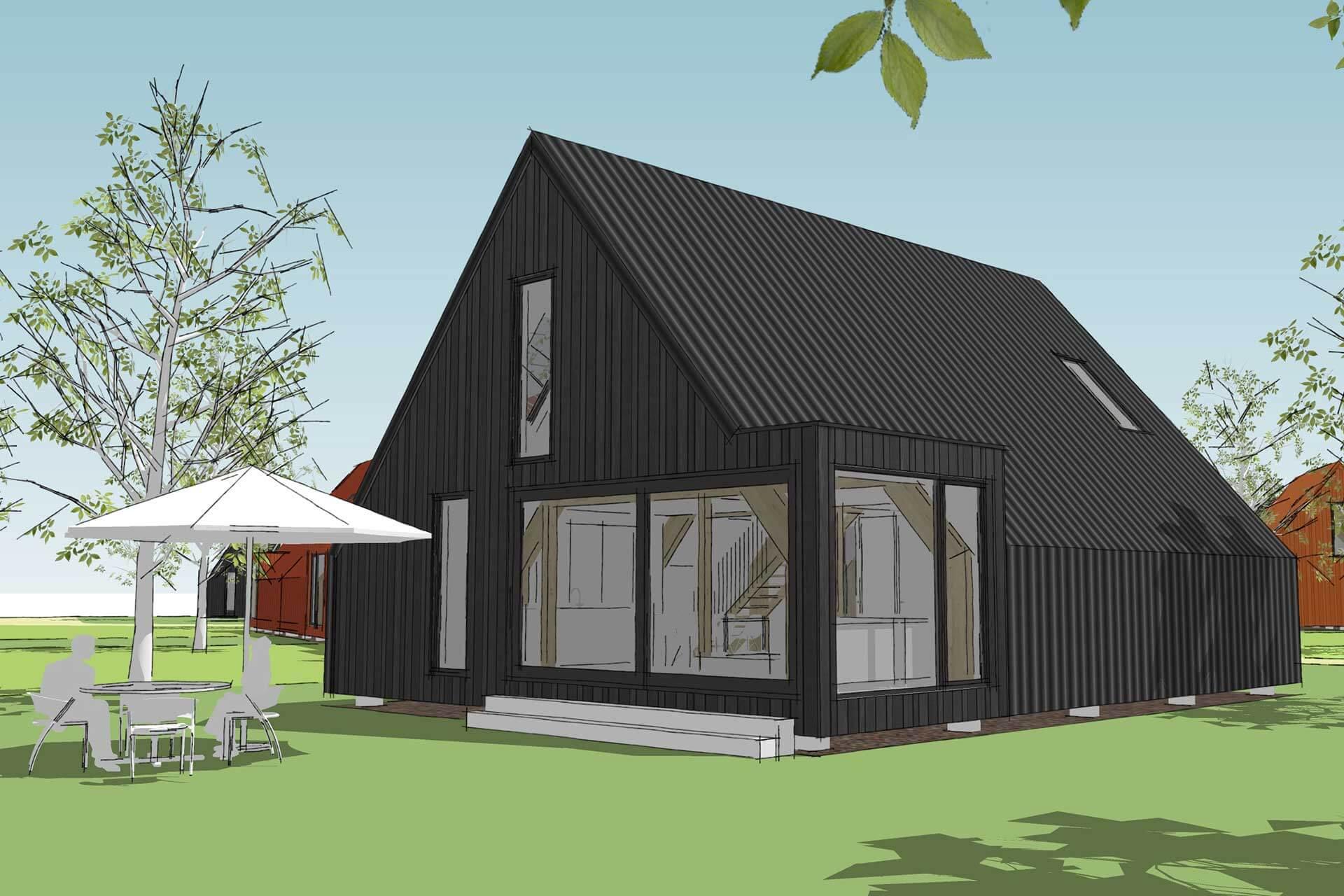 8A Architecten - De Nederzetting, Oosterwold, Almere Hout