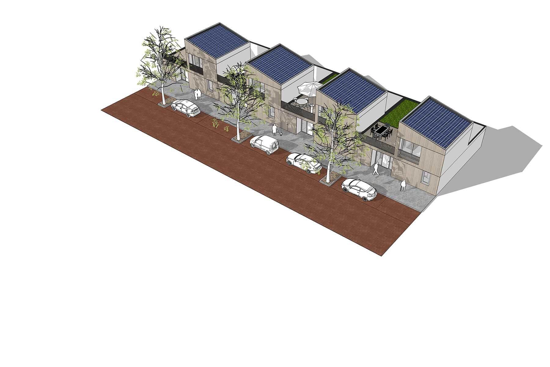 8A Architecten - Quokka bungalow, de geschakelde gelijkvloerse bungalow
