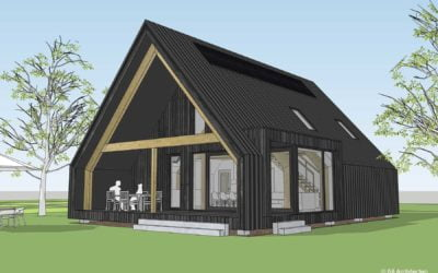 8A ontwerpt schuurwoning in Egchel, Limburg