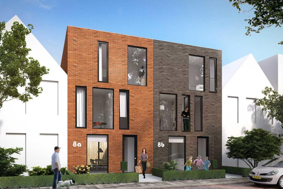 Brick house, standaard kavelwoning, Kavelwoning.nl