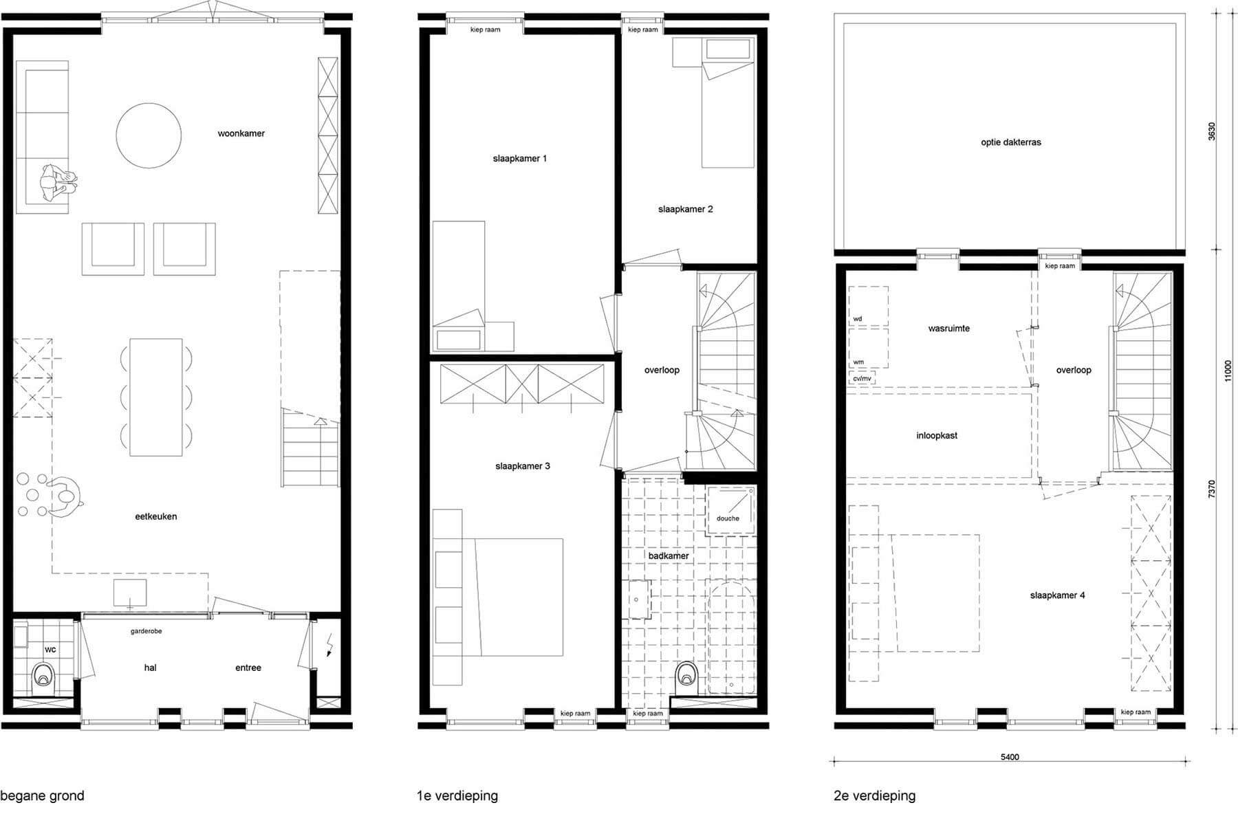 8A Architecten - Brick house, standaard kavelwoning, Kavelwoning.nl
