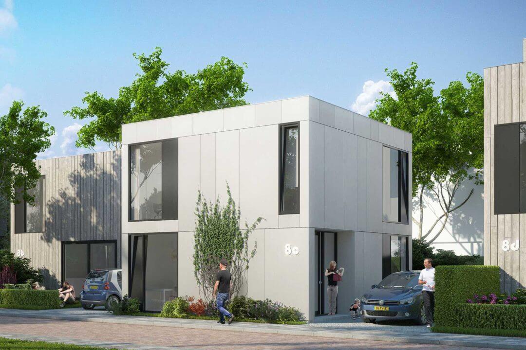 Moderne kubuswoning Cube house, Kavelwoning.nl