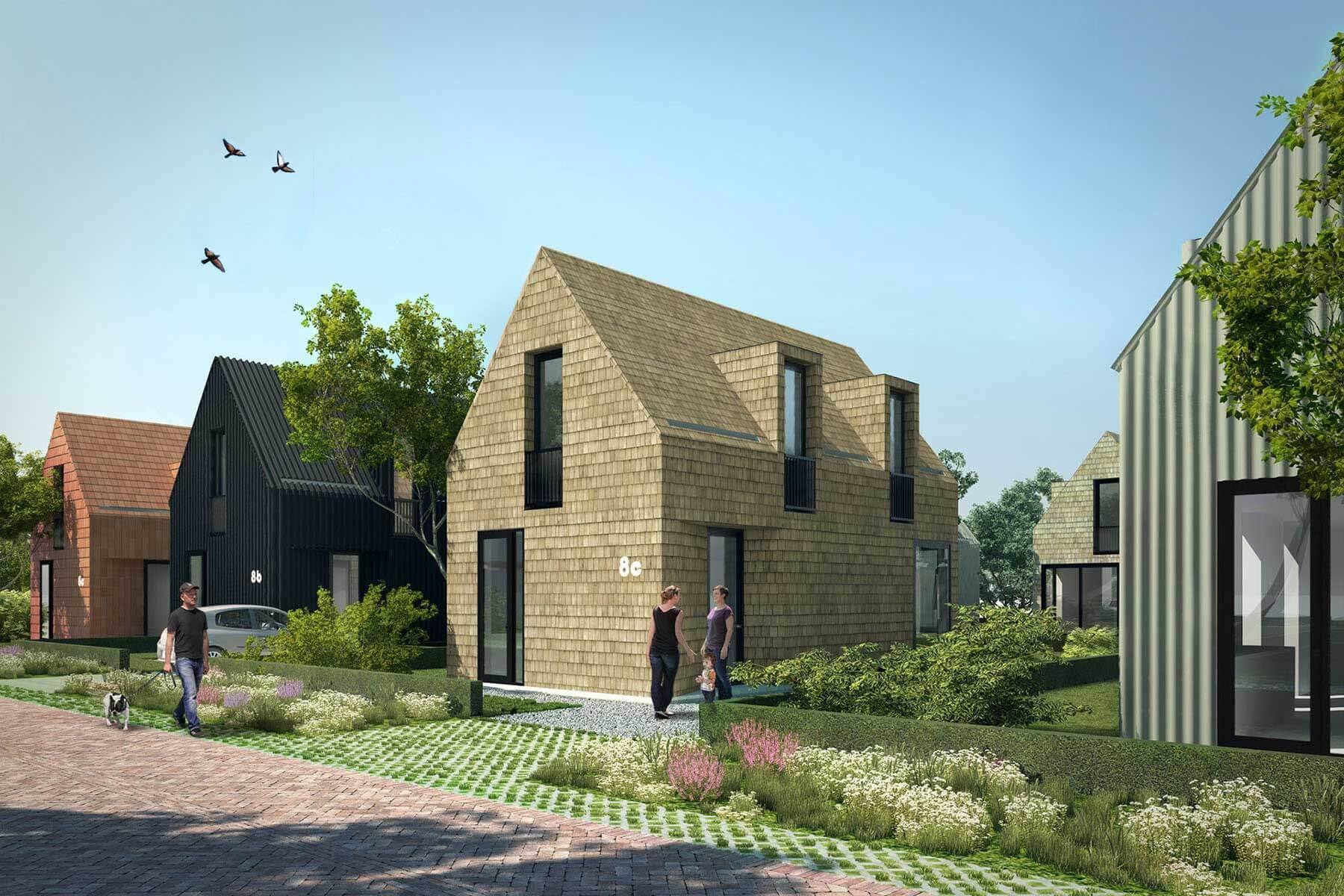 8A Architecten - Zelfbouw woning Datcha house