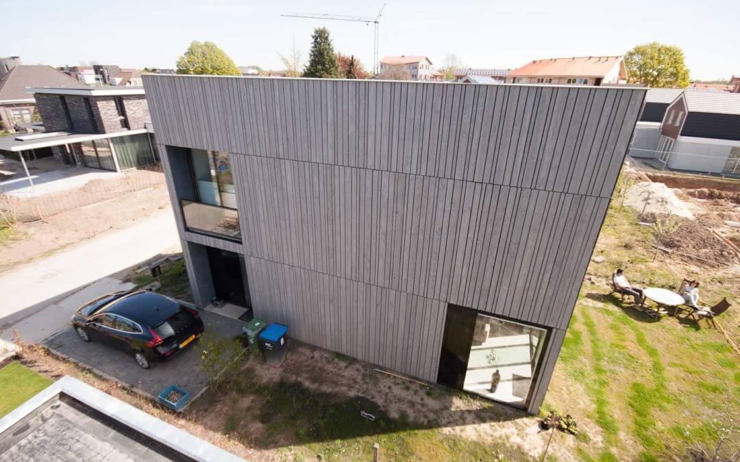 Zelfbouw woning Datcha house 1, Plant je Vlag, Nijmegen (Lent)