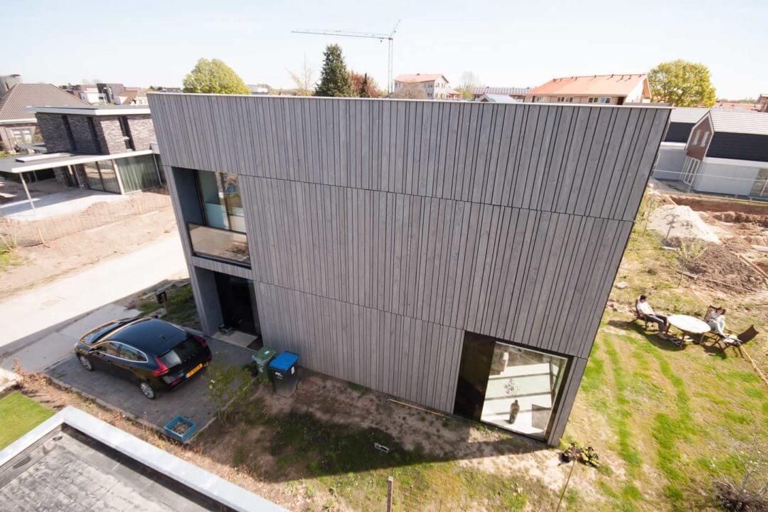 Vrijstaande zelfbouw woning, Plant je Vlag, Nijmegen (Lent)