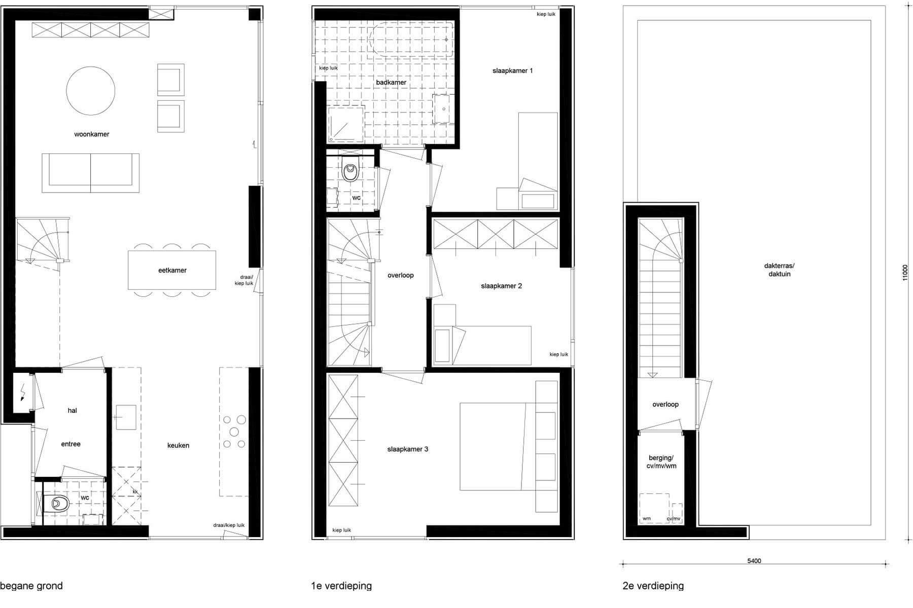 8A Architecten Zelfbouw woning Datcha house 3, Nijmegen (Lent)
