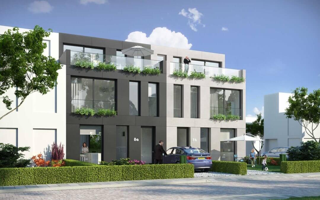 8A ontwerpt zelfbouw woning Deelplan 20 Ypenburg, Den Haag