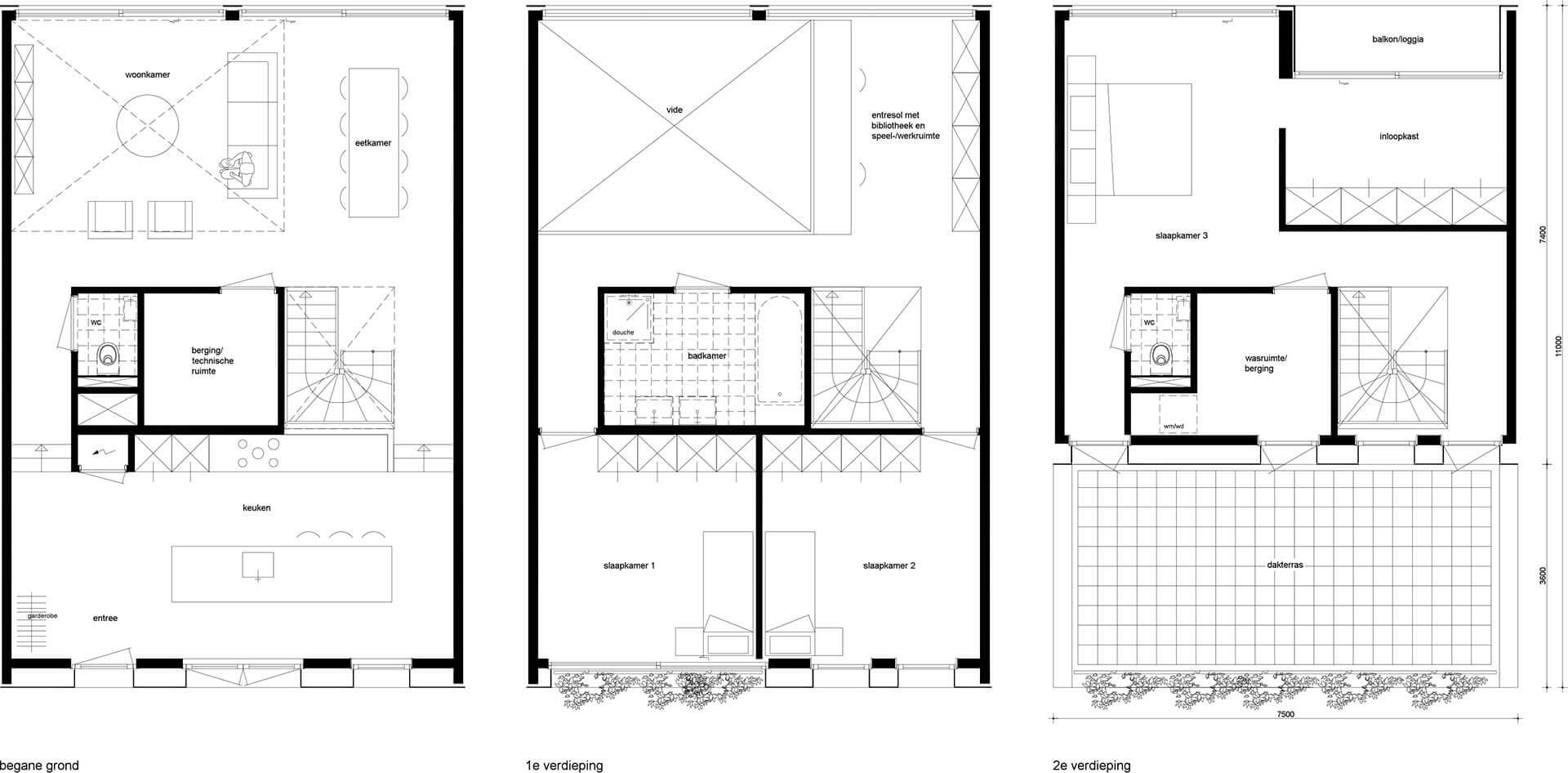 Moderne woning met vide, Ypenburg Deelplan 20, Den Haag