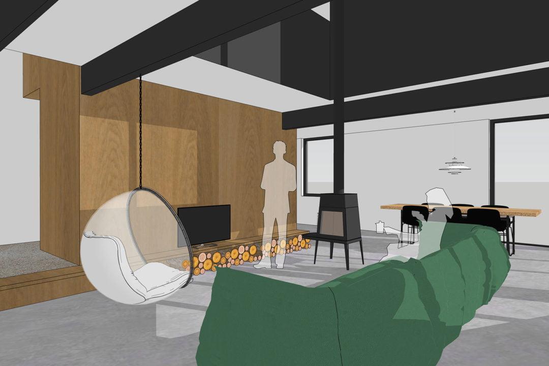 Interne verbouwing en interieur tussenwoning, Barendrecht