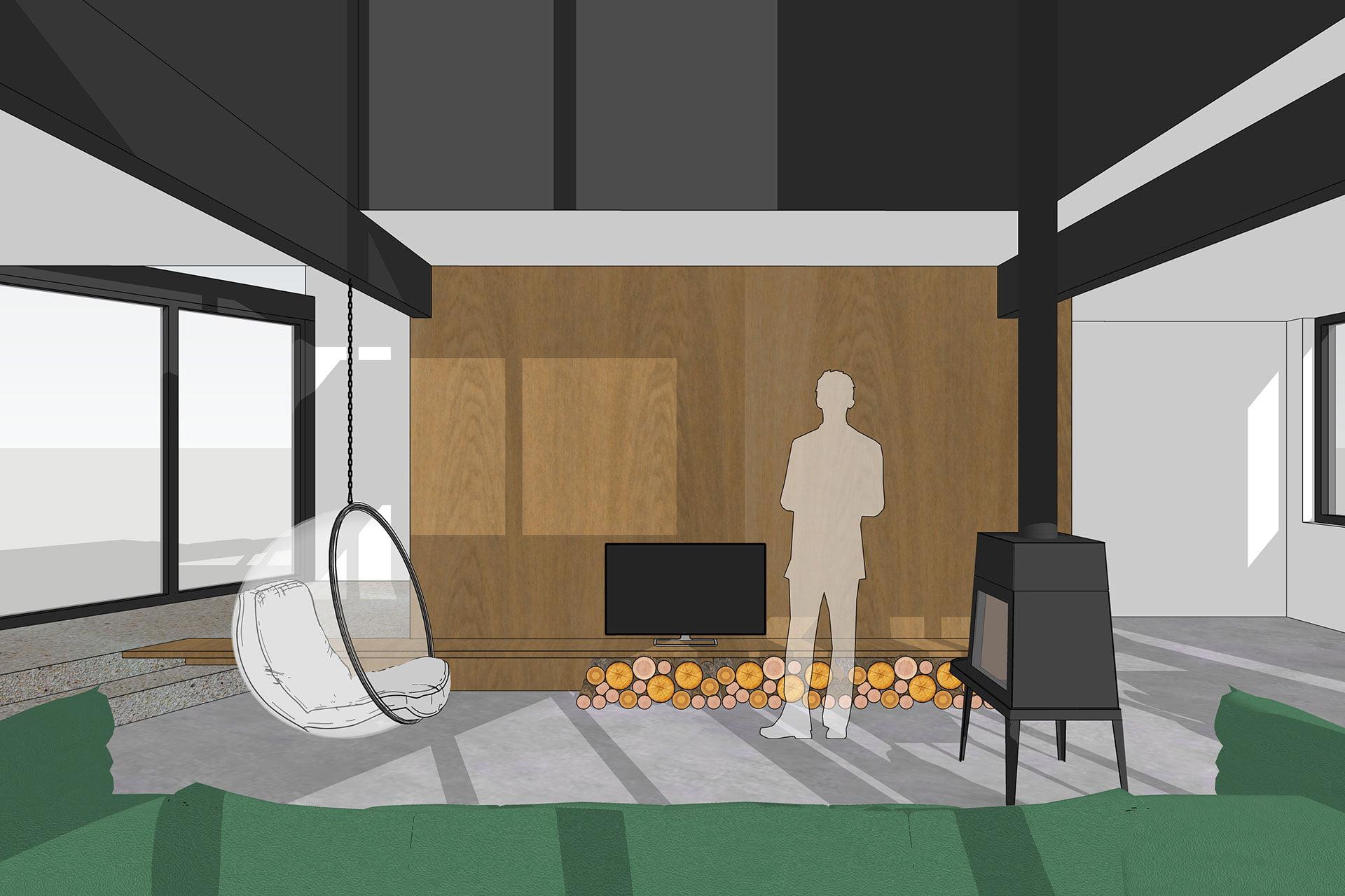 8A Architecten - interne verbouwing en interieur tussenwoning Barendrecht