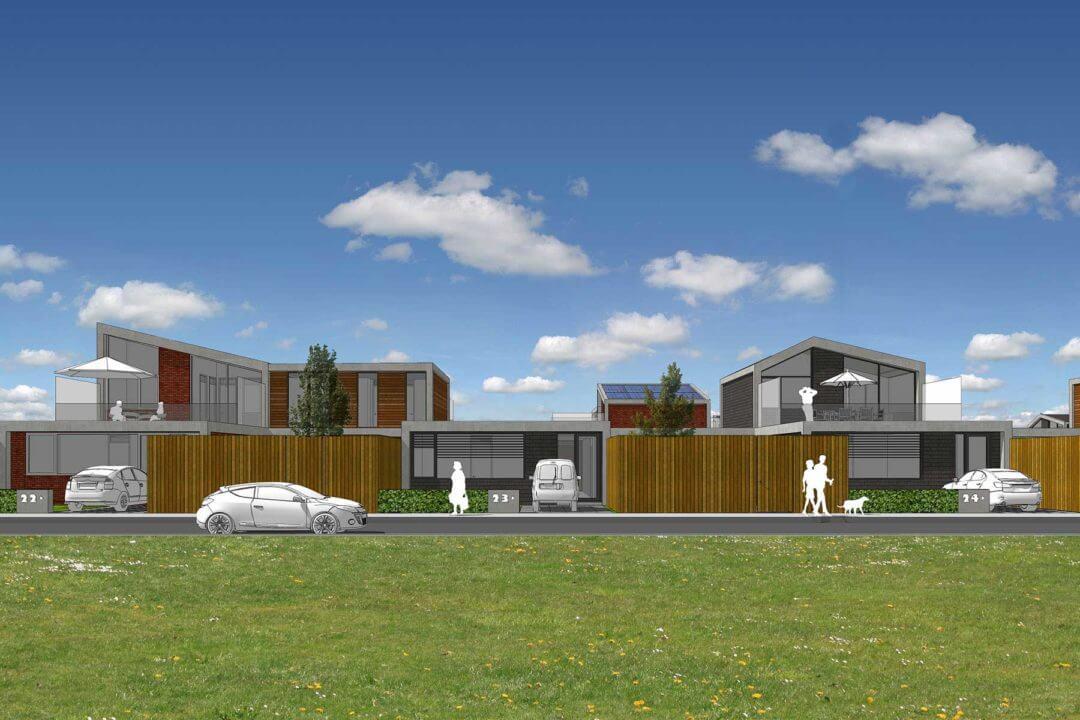 Levensloopbestendige woningen, Parkweg, Schiedam