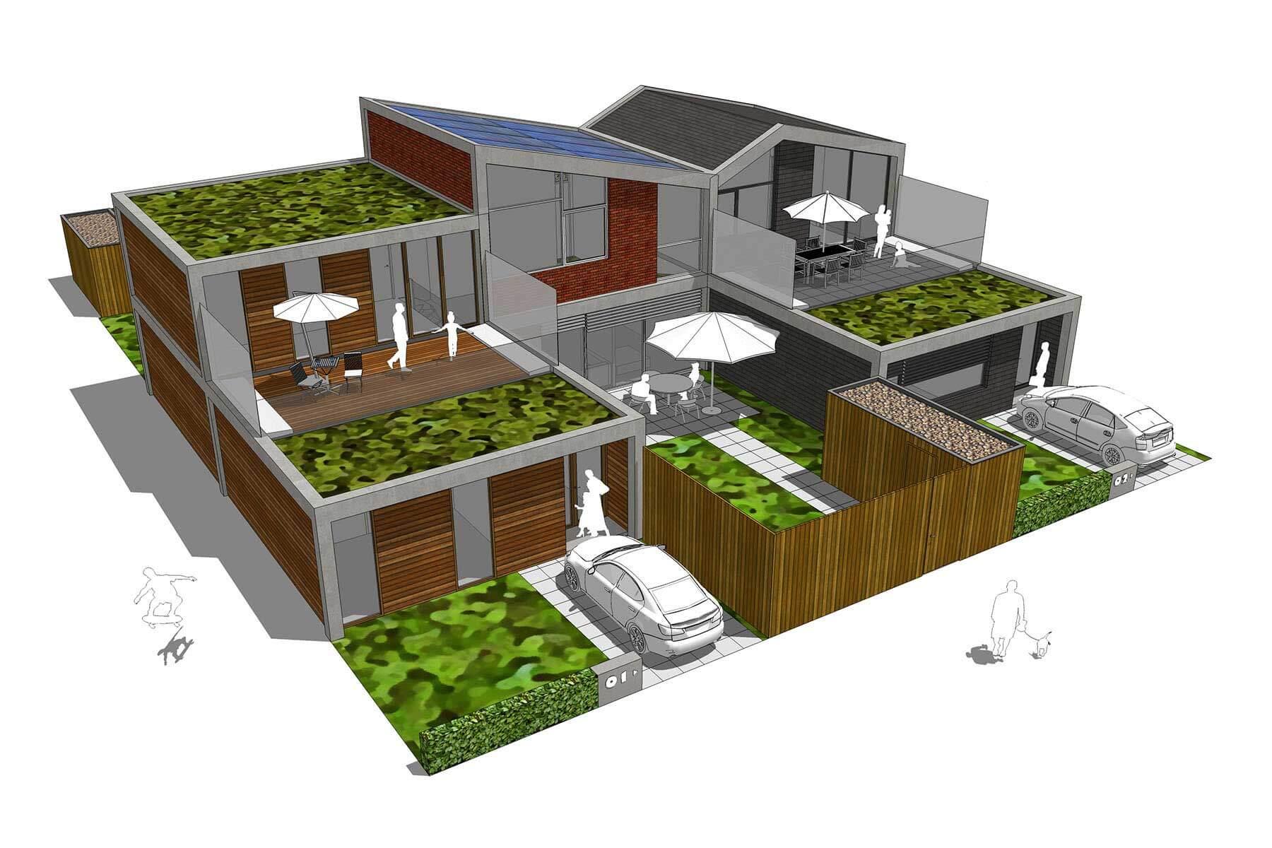 8A Architecten - Levensloopbestendige woningen, Schiedam