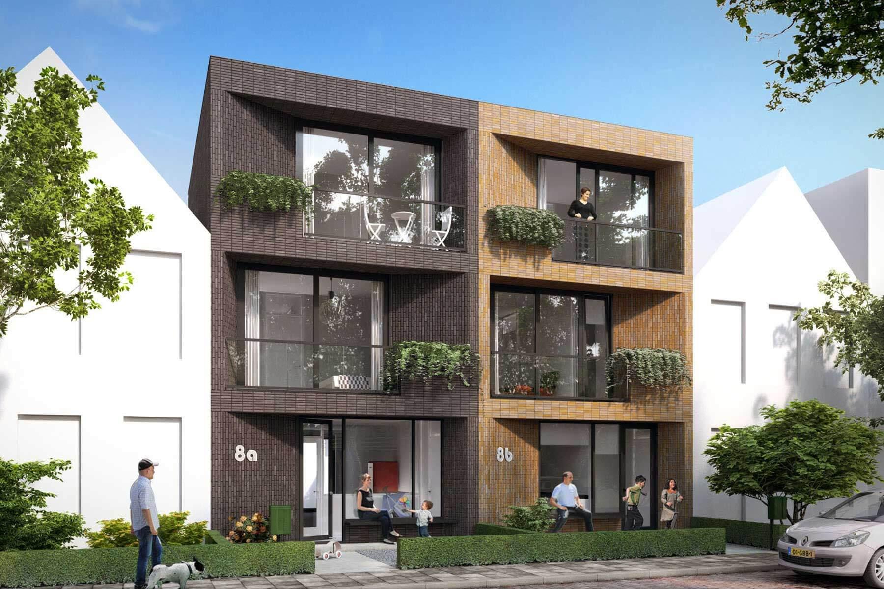 8A Architecten - Zelfbouw woning Loggia house, Kavelwoning.nl