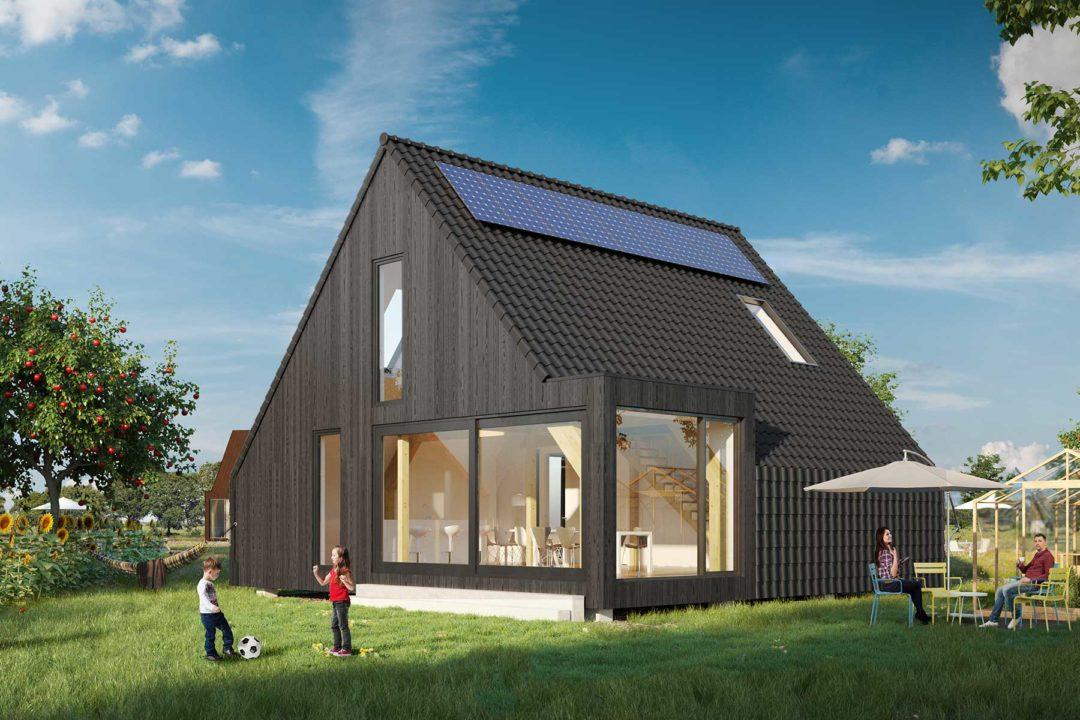 Barn house, standaard kavelwoning, Kavelwoning.nl