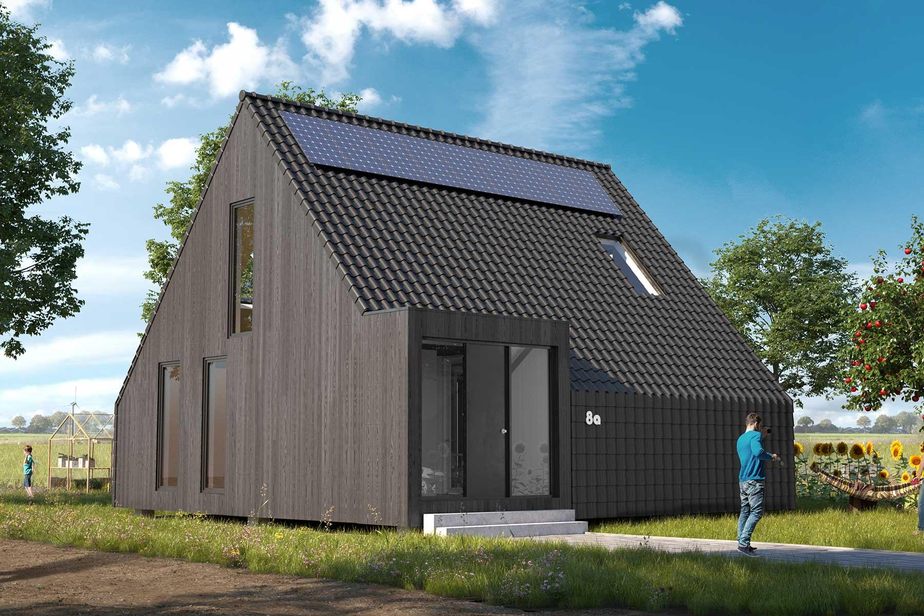 8A Architecten - moderne schuurwoning