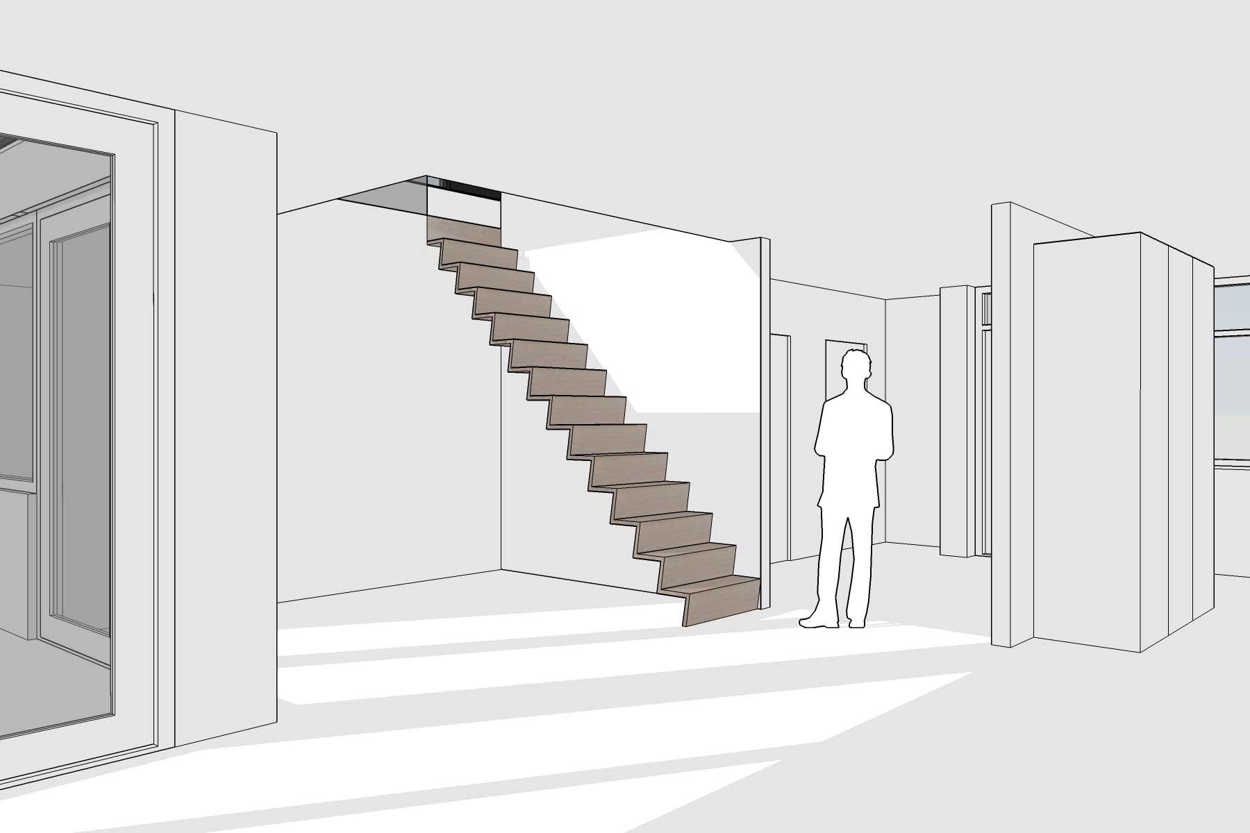 8A Architecten - Opbouw en verbouwing bungalow Krimpen aan den IJssel