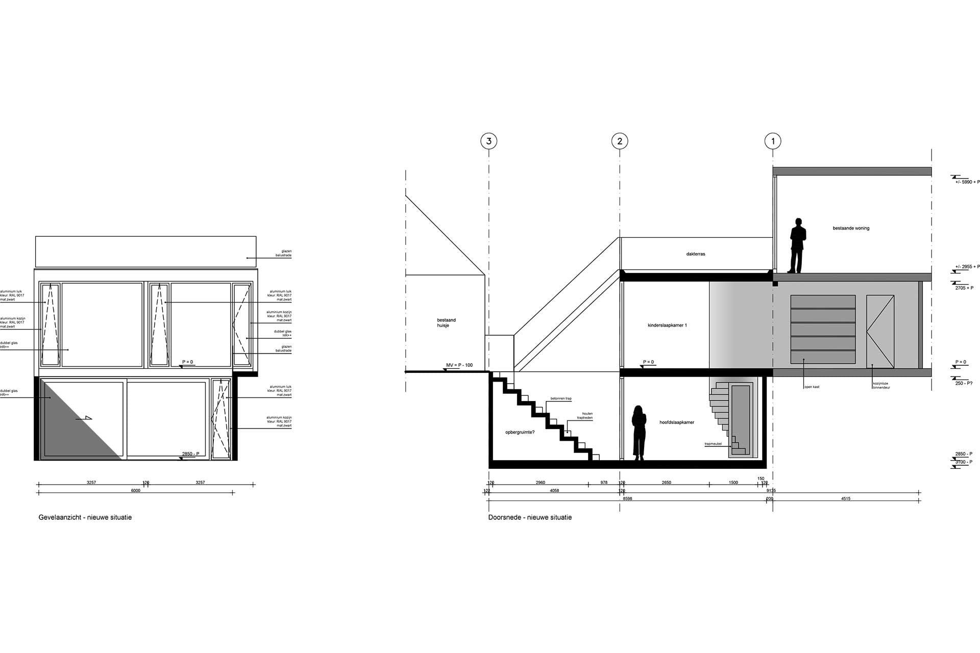 8A Architecten uitbouw met kelder, Tolsteegsingel, Utrecht