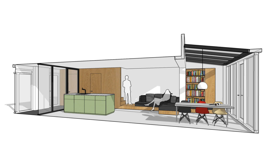 Interne verbouwing en interieur tussenwoning, Capelle a/d IJssel