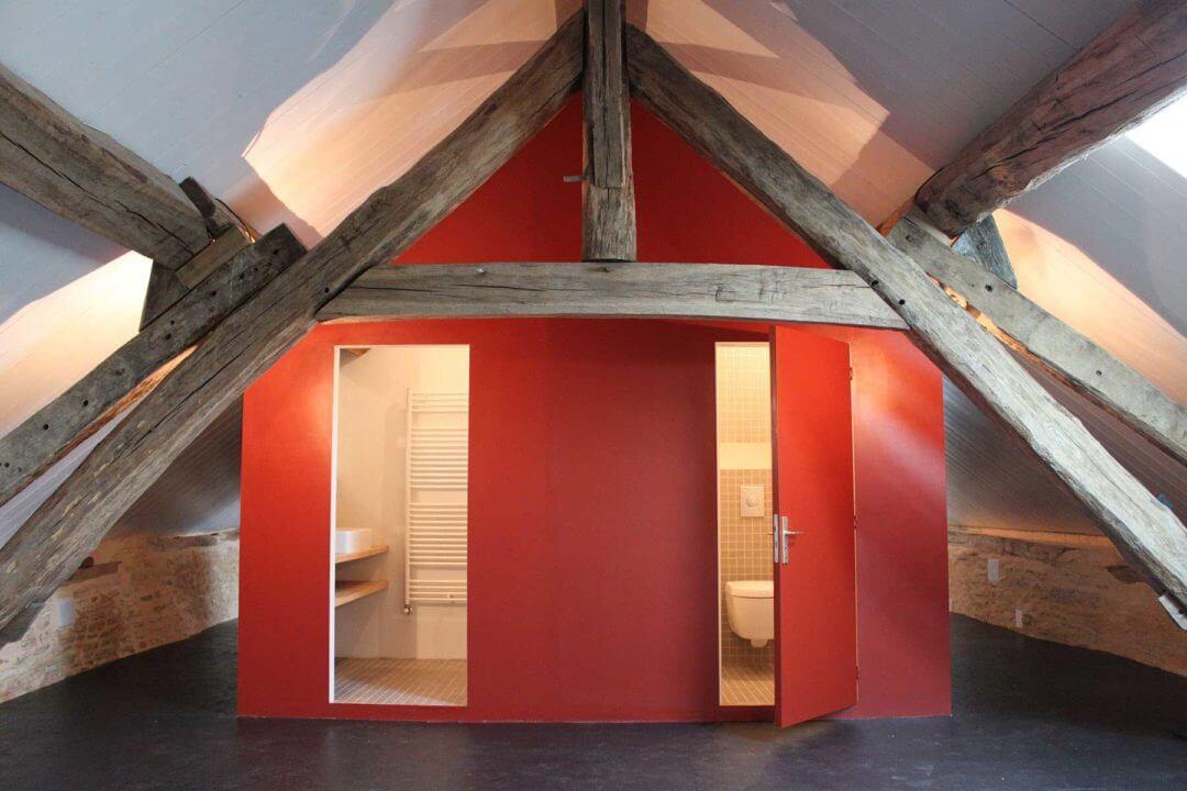 Verbouwing en interieur vakantiehuis, Bourgogne (Frankrijk)