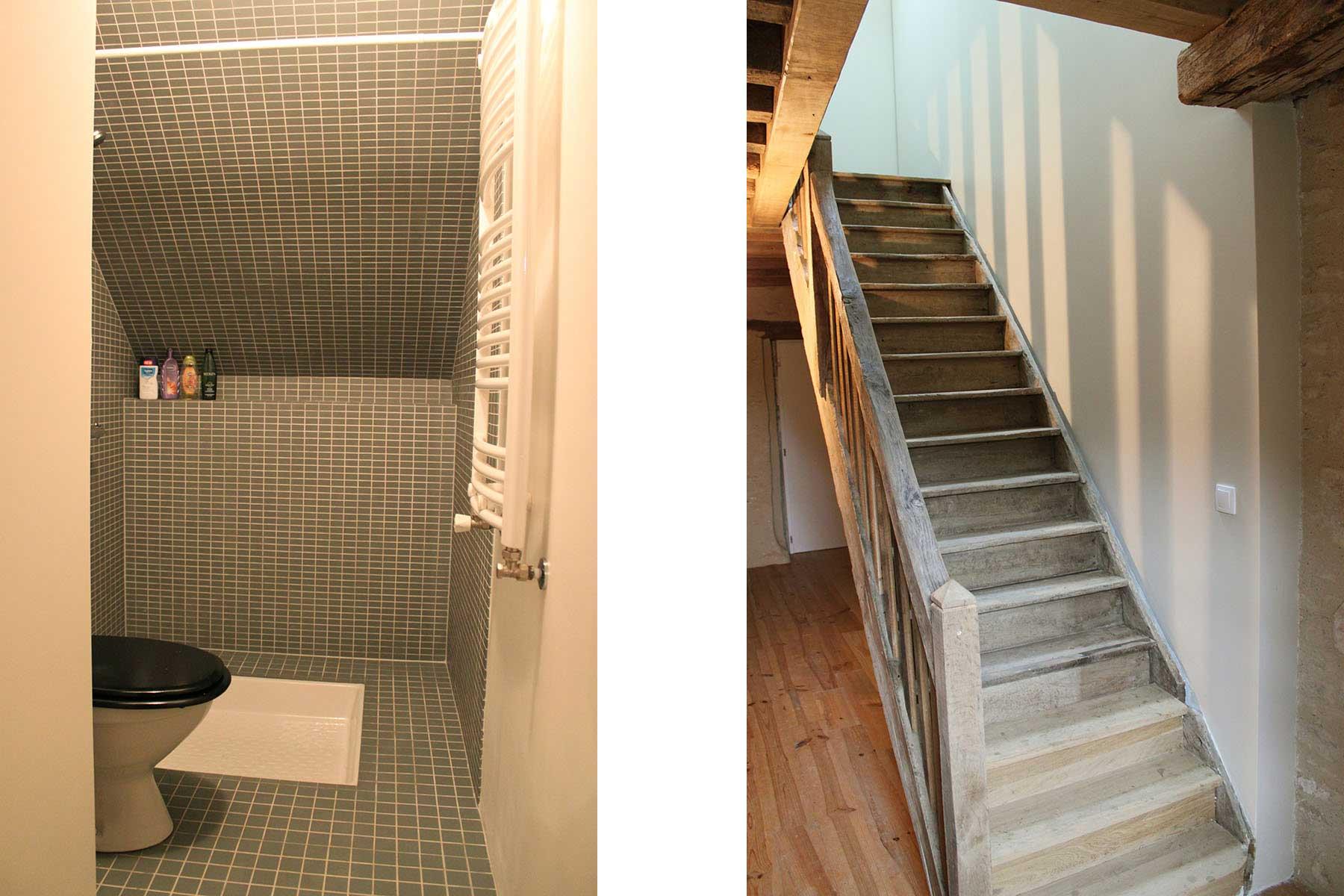 8A Architecten verbouwing en renovatie vakantiehuis Bourgogne (Frankrijk)