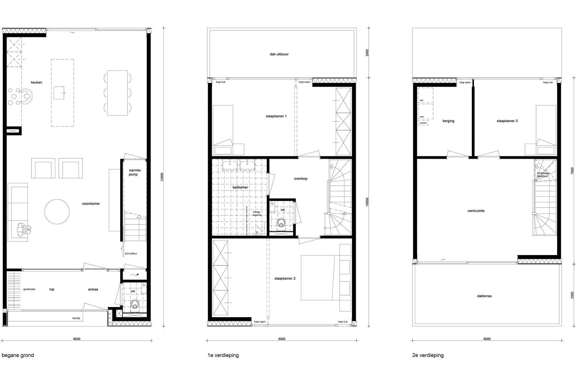 Zelfbouwwoning View house 1, Rubenssingel, Schilderspad, Capelle aan den IJssel