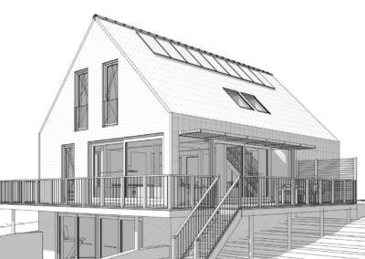Vrijstaande dijkwoning met veranda, Barendrecht