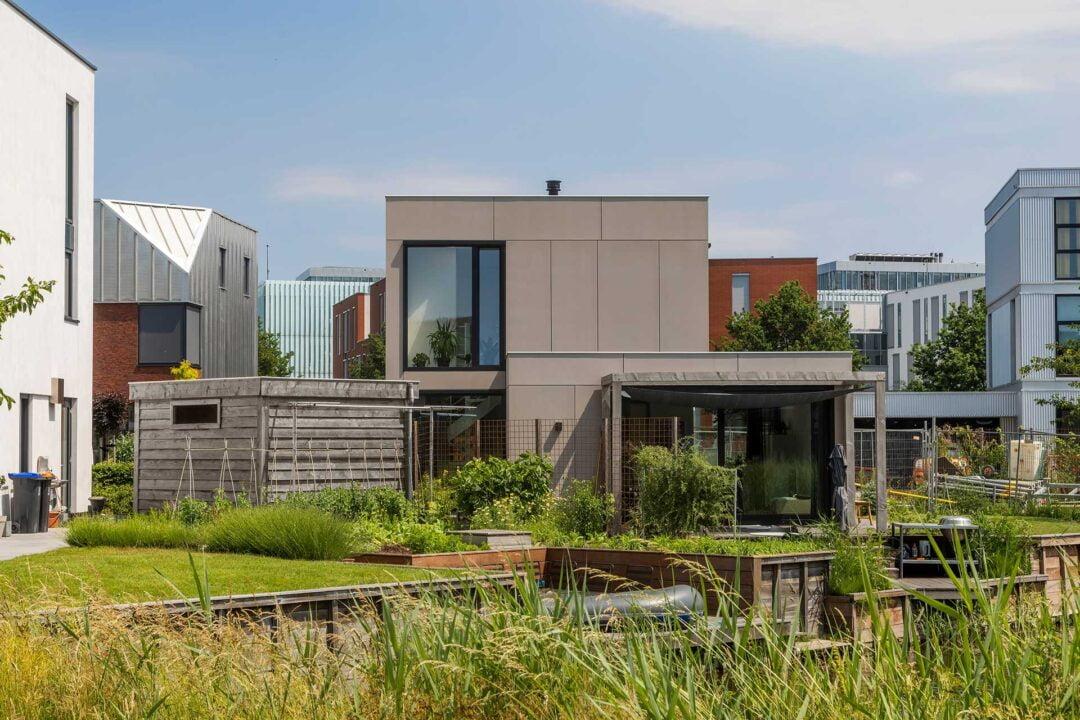 Vrijstaande kubuswoning, KubusEiland, Leidsche Rijn, Utrecht