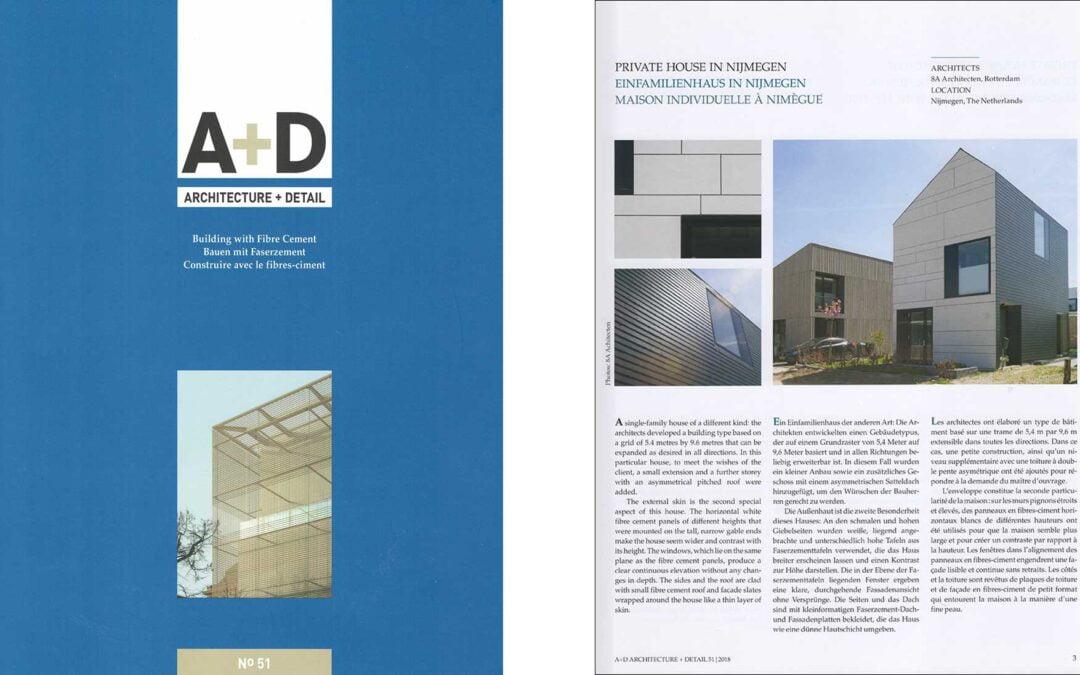 Zelfbouw woning Nijmegen (Lent) gepubliceerd in Architecture + Detail