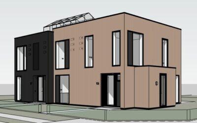 8A ontwerpt 2-onder-1-kap, Tuinen van Zandweerd, Deventer